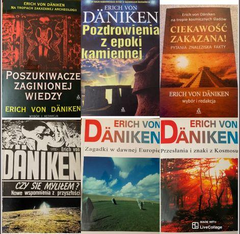 ZESTAW 6 książek Erich von Daniken