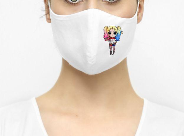 Maska maseczka ochronna Harley Quinn