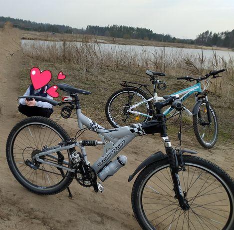 Велосипеди алюмінієві.