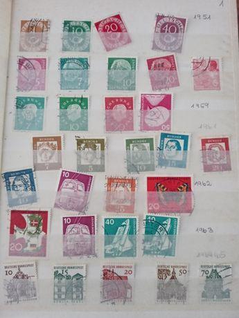 Znaczki pocztowe niemieckie