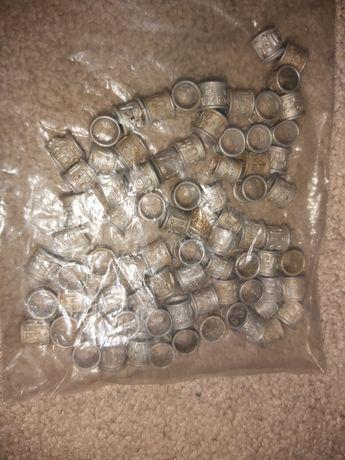 Obrączki aluminiowe