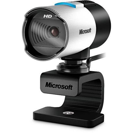 Webcam Microsoft Lifecam STUDIO Autofocus p/ Teletrabalho Reunioes