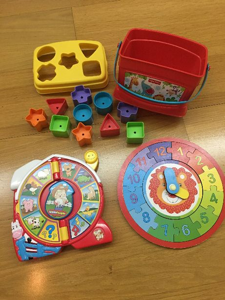Brinquedos Bébé (Mattel + Fisher-Price + Little People)
