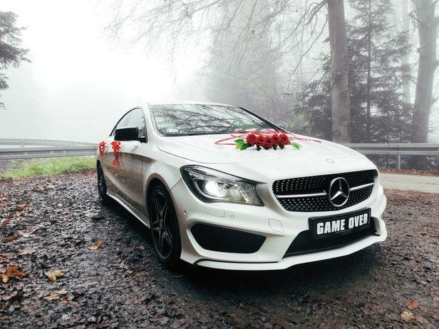 Samochód, auto do ślubu biały  MERCEDES  lub czarny  JAGUAR Nowy Sącz