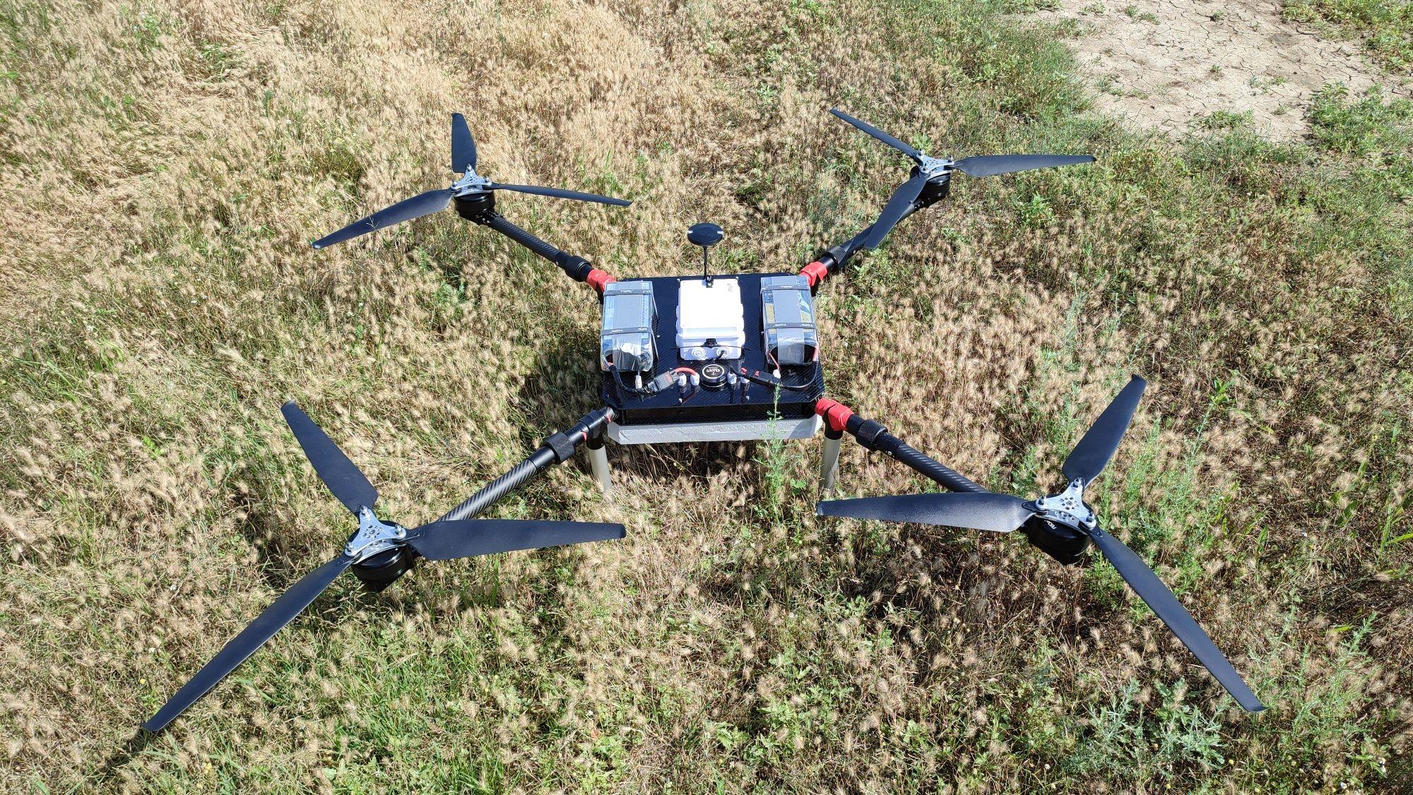 Грузовой дрон, агродрон.