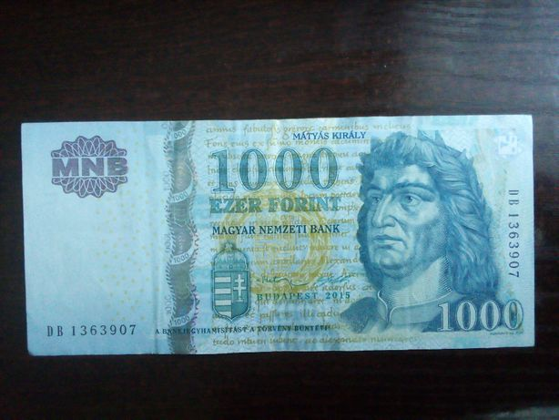Banknot 1000 forint Węgry