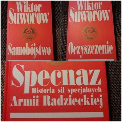 Zestaw 3 książek - W. Suworow