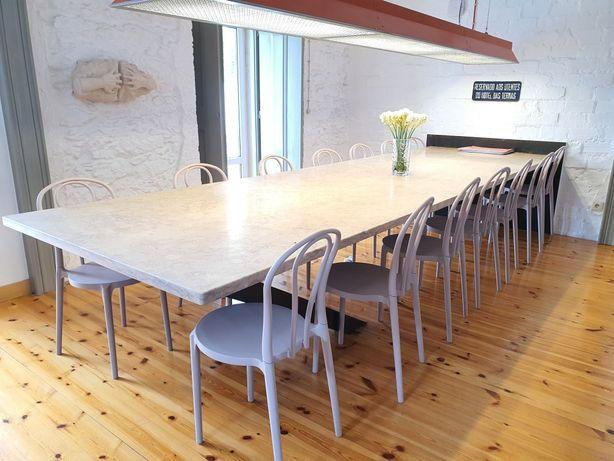 cadeiras de resina Área interior ou exterior