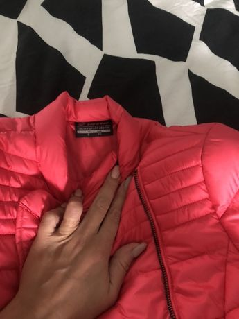 Nowa kurtka pikowana roz s oryginalna