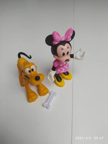 Myszka Minnie i Pluto