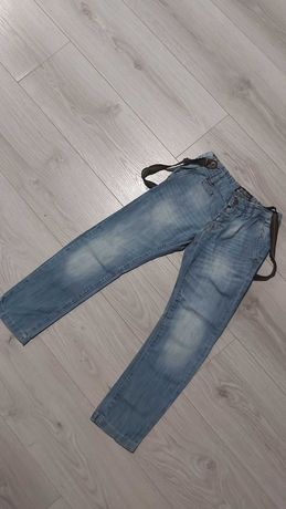 Spodnie jeans roz 116 na szlakach
