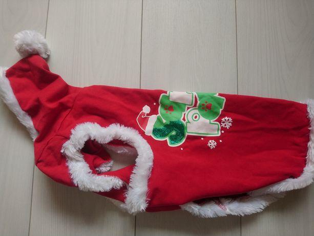 Новорічний одяг для собачки L розмір