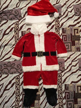 Новогодний костюм санта клауса mothercare
