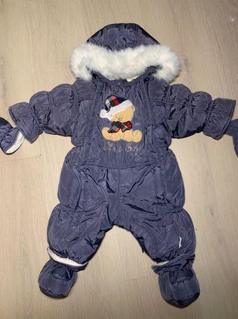 Зимний комбинезон 68см