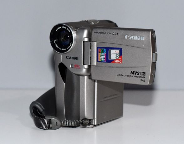Kamera Canon MV3 MC Digital Video Recorder PAL, Progressive Scan CCD