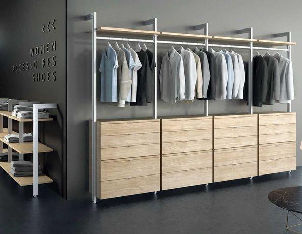 Стильні меблі в магазин, сучасне торгове обладнання