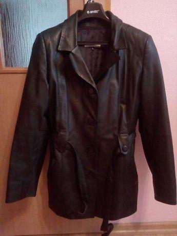 kurtka skórzana czarna damska roz. XL