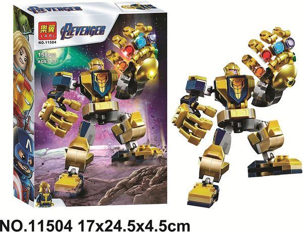Конструктор Lari «Танос: трансформер» 11504 (Аналог LEGO Super Heroes