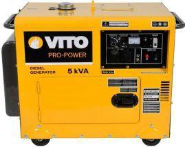Gerador de energia, a diesel, com 5,5 Kva, insonorizado, monofásico