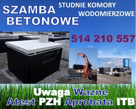 szambo betonowe zbiornik betonowy szamba na wodę gnojowicę 10 12 8 6