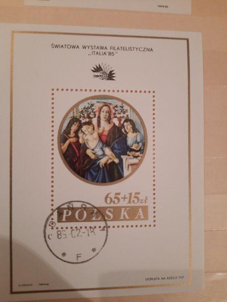 Znaczki polski kasowane 1985