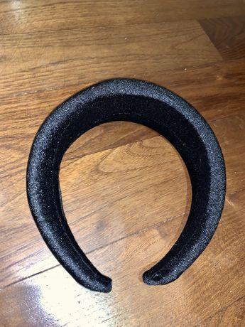 opaski na wlosy welurowe welur bezowa czarna