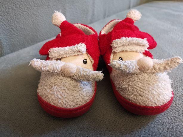 Детские теплые новогодние тапочки Next 22 размер