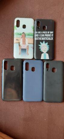 Case, obudowy, etui Samsung Galaxy a40 Rick and Morty, bojack horseman