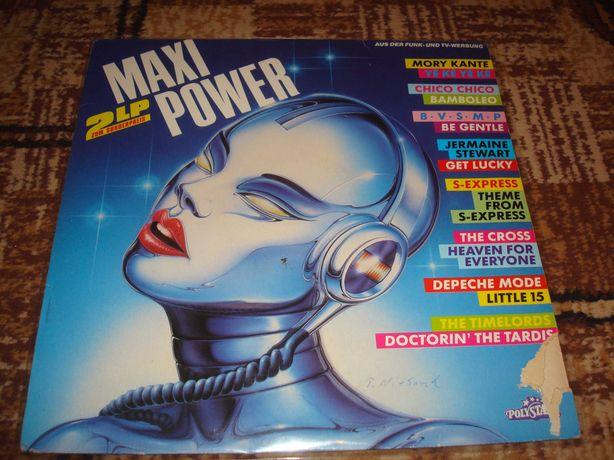 Płyty winylowe Składanka Maxi Power 2 lp