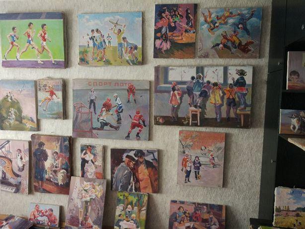 Картины художника Кнышевского