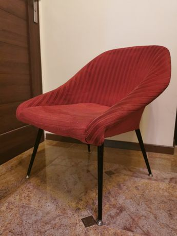 Fotele 4 szt vintage, prl