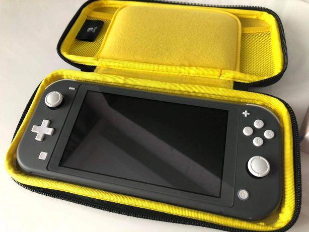 Konsola Nintendo Switch Lite Gray jak nowa Mario All-stars 3D