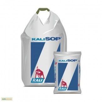 Удобрение Сульфат калия KALISOР, Німечинна; K - 50 %+SO3 - 45 %