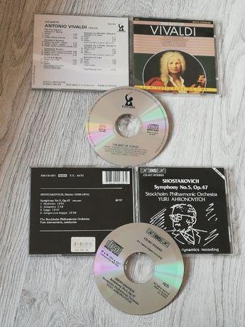 Vivaldi i Szostakowicz. 2płyty cd muzyka poważna