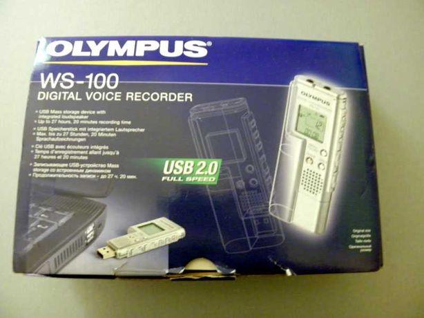 Dyktafon olympus  ws 100 usb 2.0