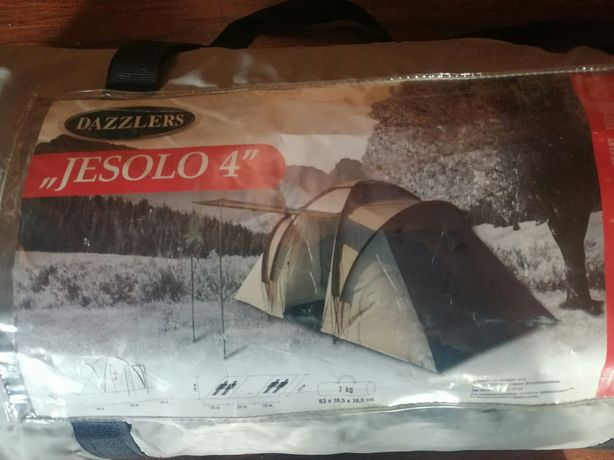 Палатка 4 місна jesolo 4