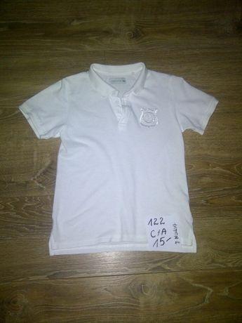 t-shirt polówka polo roz. 122 c&a
