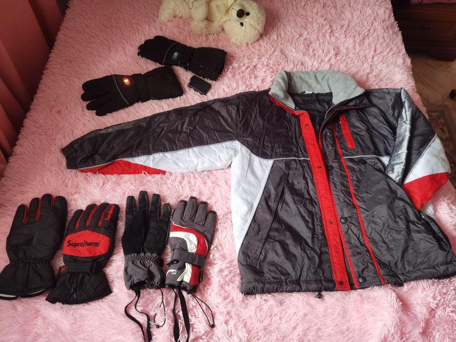 Лыжная куртка и перчатки Визирка - изображение 1
