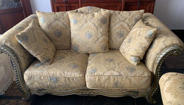 Piekna sofa i fotel styl Versace REZERWACJA