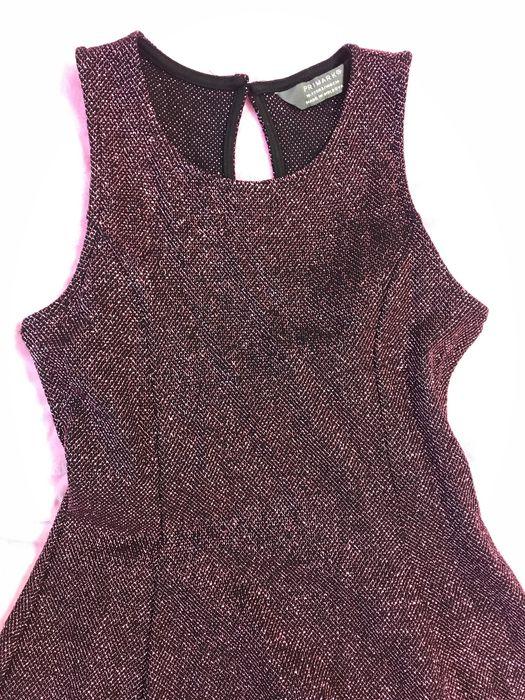 Платье в люрексе, малинового цвета Канев - изображение 1
