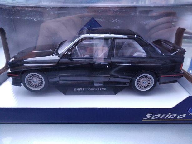 BMW E30 Sport Evo model skala 1:18 Solido