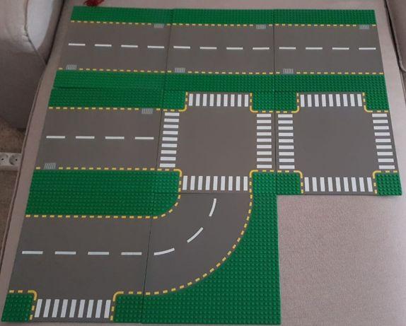 LEGO Placas de Estrada Antigas (Usadas)