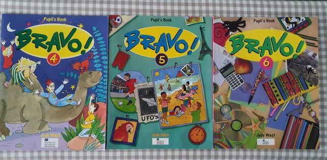 Pupils book Bravo! 4,5,6 учебник для изучения английского языка