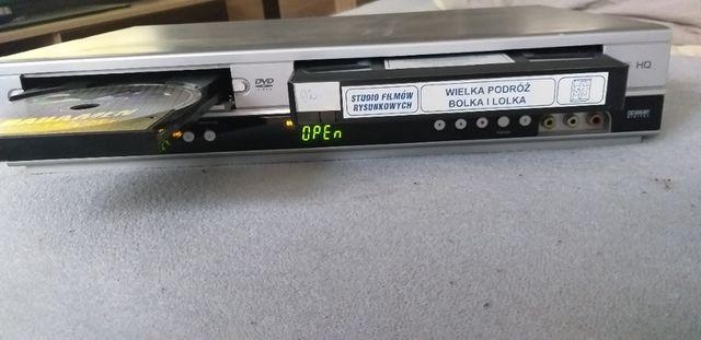 odtwarzacz DVD + VIDEO PHILIPS DVP3055V