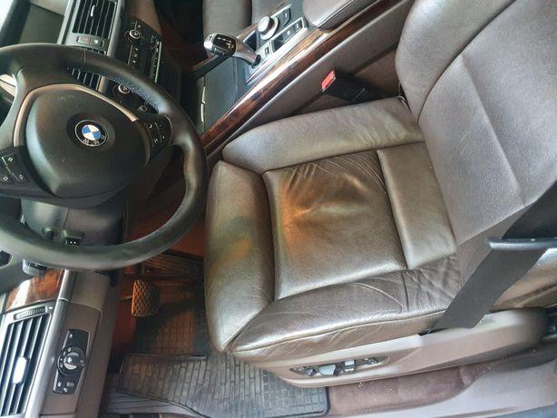 Салон комфортный bmw e70 коричневый