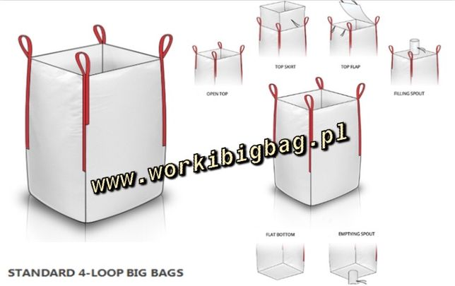 Worki Big Bag Bagi Nowe i Używane BIGBAG 500kg 750kg 1000kg 1500kg