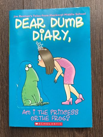 Książka Dear Dumb Diary, am I the princess or the frog?