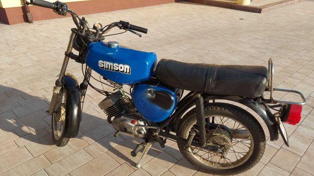 Simson s51, 1987, 4 biegi, zarejestrowany.