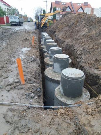 Бетонные кольца, для колодцев и канализации, септиков, выгребная яма