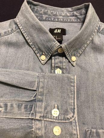 H&M koszula jeansowa rozmiar M